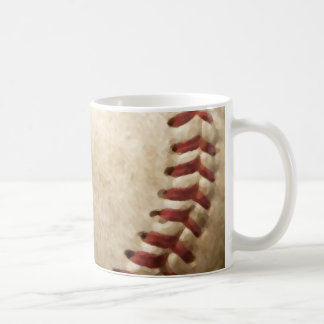 Béisbol del vintage taza de café