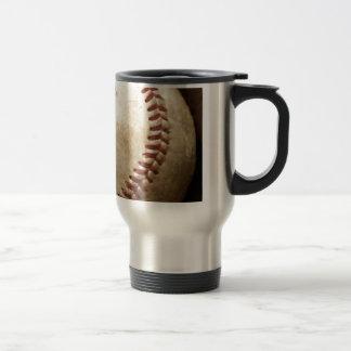 Béisbol del vintage taza de viaje