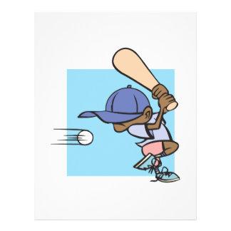 Béisbol del Wee del pis Tarjeton
