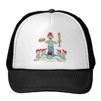 Béisbol del Wee del pis Gorro De Camionero