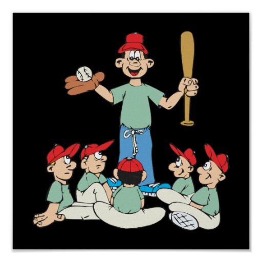 Béisbol del Wee del pis Impresiones
