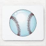 Béisbol (detallado) tapetes de ratón