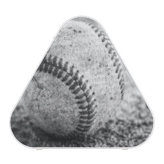 Béisbol en altavoz blanco y negro