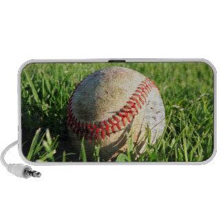 Béisbol en el altavoz de la hierba