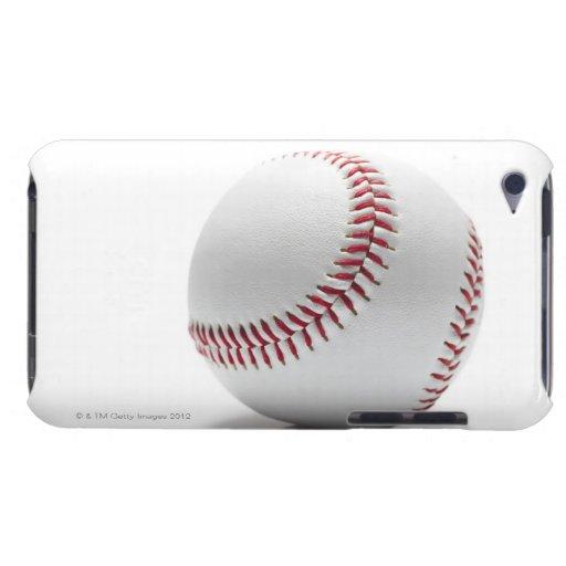 Béisbol en el fondo blanco Case-Mate iPod touch cobertura