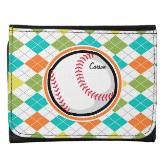 Béisbol en el modelo colorido de Argyle