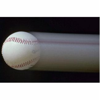 Béisbol en el movimiento fotoescultura vertical