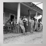 Béisbol en el NC, los años 30 del vintage Impresiones
