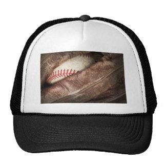 Béisbol en guante gorros bordados