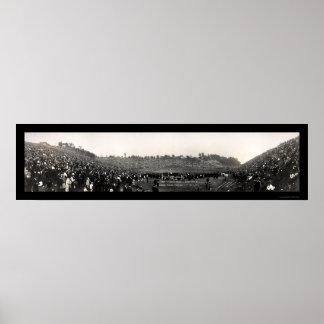 Béisbol en la foto 1915 de Cleveland Impresiones
