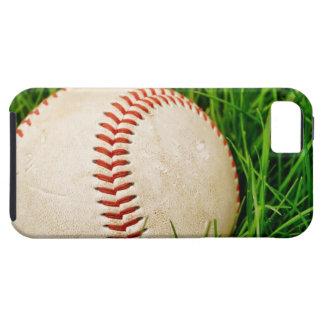 Béisbol en la hierba iPhone 5 cárcasa