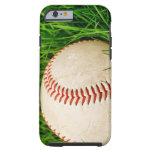 Béisbol en la hierba funda de iPhone 6 tough