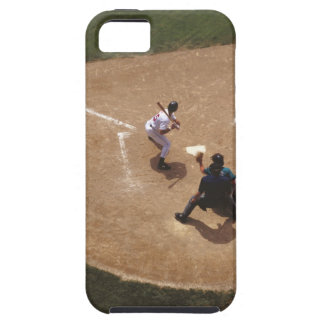 Béisbol en la meta iPhone 5 Case-Mate protector