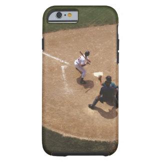 Béisbol en la meta funda de iPhone 6 tough