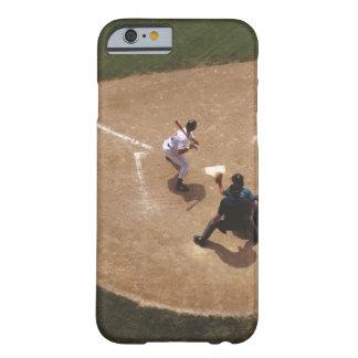 Béisbol en la meta funda para iPhone 6 barely there