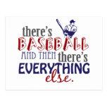 béisbol entonces eleverything tarjeta postal