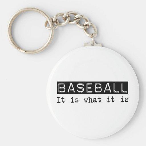Béisbol es llavero