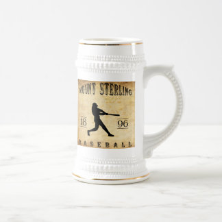Béisbol esterlina de Kentucky de 1896 soportes Jarra De Cerveza