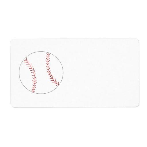 Béisbol Etiqueta De Envío