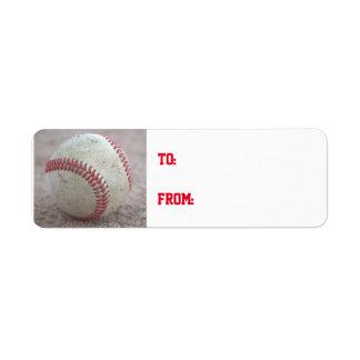 Béisbol Etiqueta De Remitente