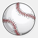 Béisbol Etiqueta Redonda
