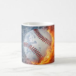 Béisbol extremo taza básica blanca