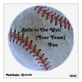 Béisbol Fan-tastic_Balls a la fan de la pared