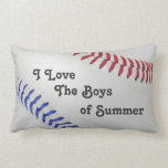 Béisbol Fan-tastic_Color Laces_Boys del verano Cojines
