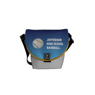 Béisbol Fan-tastic_Color Laces_go_gr_personalized Bolsa De Mensajería