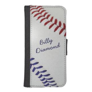 Béisbol Fan-tastic_color Laces_nb_dr_personalized Billetera Para iPhone 5