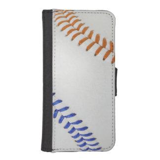 Béisbol Fan-tastic_color Laces_og_bk Billetera Para iPhone 5