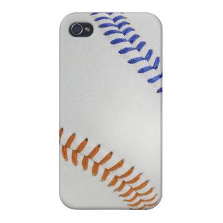 Béisbol Fan-tastic_Color Laces_og_bl iPhone 4 Carcasas