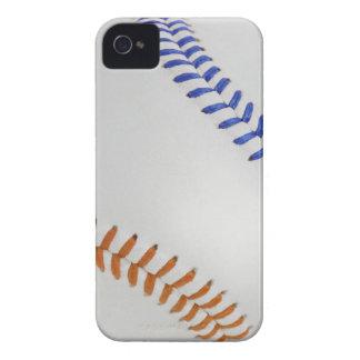 Béisbol Fan-tastic_Color Laces_og_bl iPhone 4 Case-Mate Cárcasa