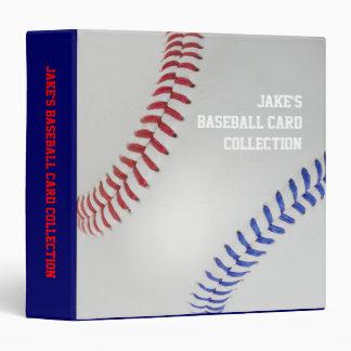 """Béisbol Fan-tastic_Color Laces_personalized Carpeta 1 1/2"""""""