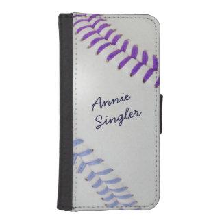 Béisbol Fan-tastic_Color Laces_pu_lb_personalized Funda Tipo Billetera Para iPhone 5