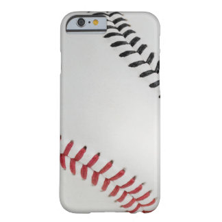 Béisbol Fan-tastic_Color Laces_rd_bk Funda Para iPhone 6 Barely There