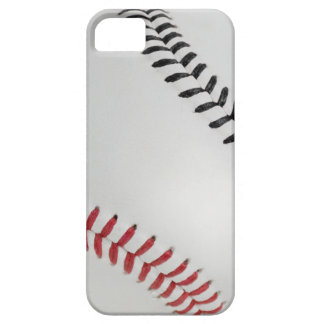 Béisbol Fan-tastic_Color Laces_rd_bk iPhone 5 Carcasas