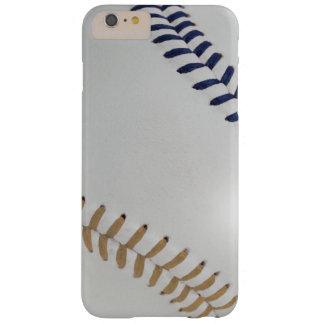Béisbol Fan-tastic_Color Laces_stitching_db_sd Funda De iPhone 6 Plus Barely There