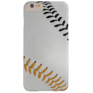 Béisbol Fan-tastic_Color Laces_Stitching_go_bk Funda De iPhone 6 Plus Barely There