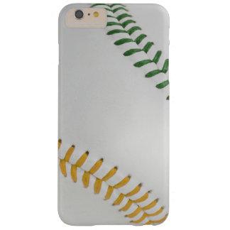 Béisbol Fan-tastic_Color Laces_Stitching_go_gr Funda De iPhone 6 Plus Barely There