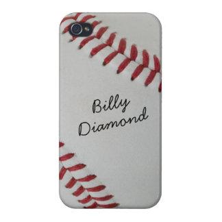 Béisbol Fan-tastic_pitch _autographstyle1 perfecto iPhone 4/4S Fundas