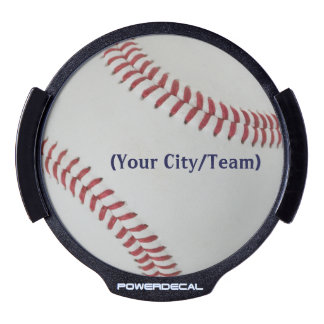 Béisbol Fan-tastic_pitch perfect_personalized Decal LED Para Ventana