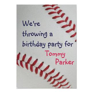 """Béisbol Fan-tastic_sports - fiesta de cumpleaños Invitación 5"""" X 7"""""""