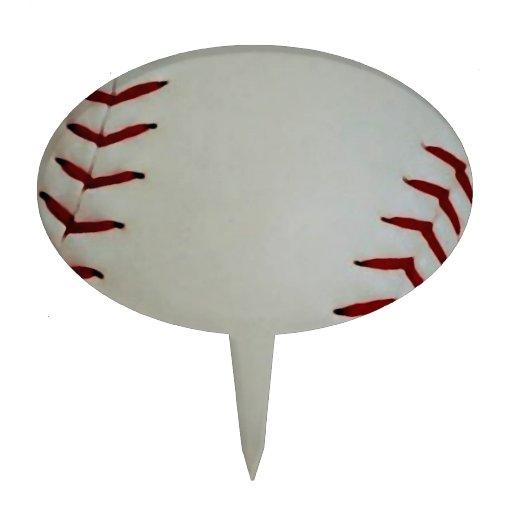 Béisbol Figura De Tarta