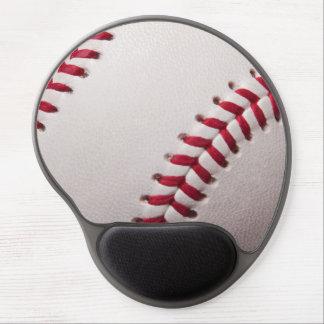 Béisbol - fondo de los béisboles de la plantilla d alfombrilla gel