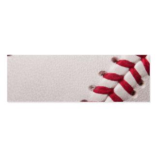 Béisbol - fondo de los béisboles de la plantilla tarjetas de visita mini