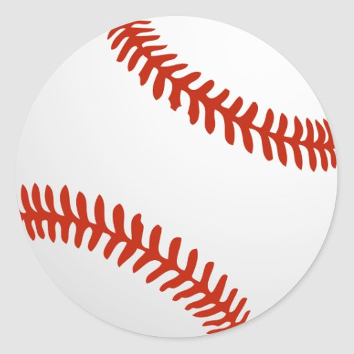 Béisbol fresco para los jerseys de Tema Etiqueta Redonda
