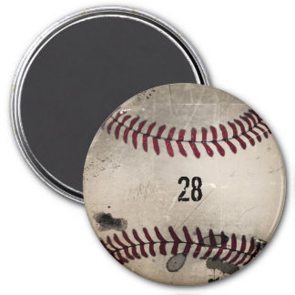 Béisbol fresco personalizado del Grunge del vintag Iman
