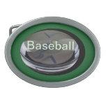 Béisbol Hebillas De Cinturón Ovales