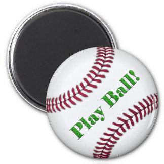 Béisbol Imán Redondo 5 Cm